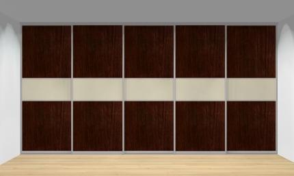 Drzwi przesuwne szerokość 451 - 500 cm 4550d18x5