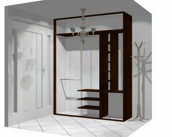 Wnętrze szafy szerokość 181 - 210 cm 1821w39x3