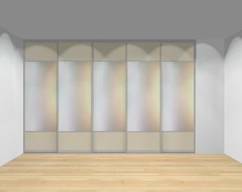 Drzwi przesuwne szerokość 351 - 400 cm 3540d15x5