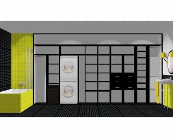 Wnętrze szafy szerokość 450 - 500 cm  4550w6x5
