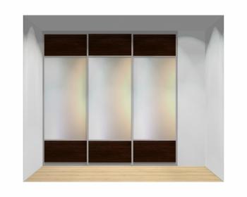 Drzwi przesuwne szerokość 241 - 270 cm 2427d11x3