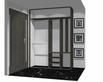 Wnętrze szafy szerokość 161 - 180 cm 1618w24x2