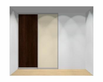 Drzwi przesuwne szerokość 181 - 210 cm 1821d4x2