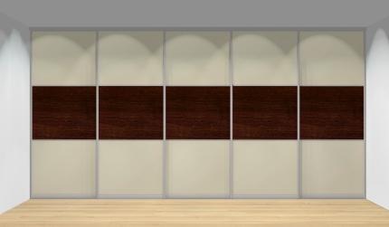 Drzwi przesuwne szerokość 451 - 500 cm 4550d23x5